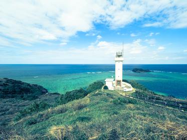 沖縄、石垣島の平久保崎の風景