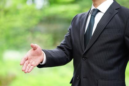 握手 エコロジービジネス