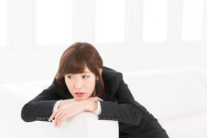 疲れた女性 ビジネス