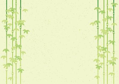 水墨画の様な笹 竹のイラスト