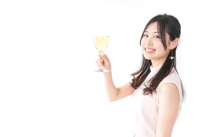 パーティーをする女性