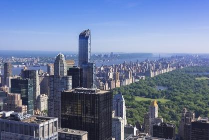 ニューヨーク トップ・オブ・ザ・ロック展望台よりセントラルパーク