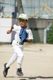 少年野球外野手