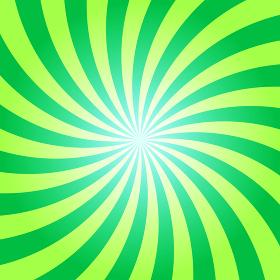 放射状A 緑