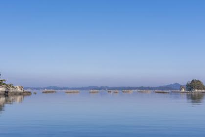 宮城 松島湾浦戸諸島の野々島