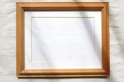 写真用フレーム(木枠、白フレーム)