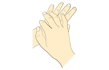 正しい手の洗い方