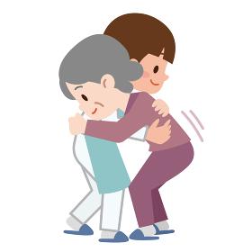 介護福祉士とシニア 介護