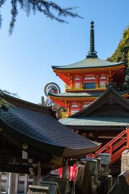朝護孫子寺 (奈良県生駒郡 2020/12/09撮影)