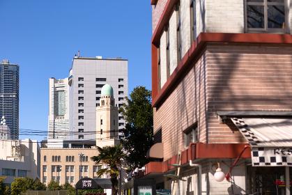 横浜、歴史的建造物のある風景・日本
