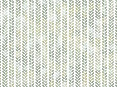 背景素材 水彩風パターン 植物 緑