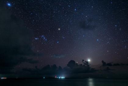 モルディヴ・南国の星空
