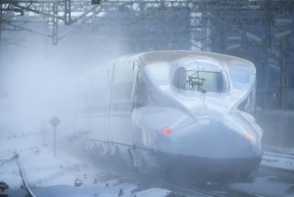 冬の米原駅