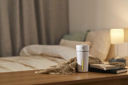 寝室の加湿器