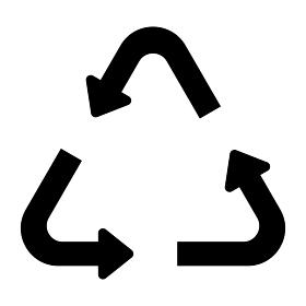 三角形の矢印