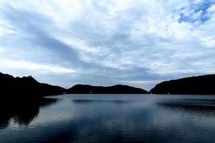 夏の玉原湖 (群馬県・沼田市)