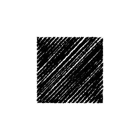 チョークで描いたような図形/アイコン(四角形)