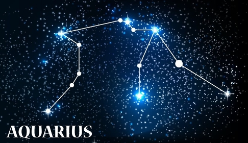 Symbol Aquarius Zodiac Sign. Vector Illustration EPS10. Symbol Aquarius Zodiac Sign. Vector Illustration.