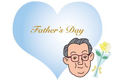 ハートの父の日