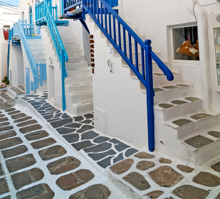 isle of     greece antorini europe old house and white color