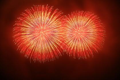 秩父夜祭の花火