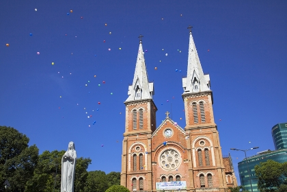 ベトナム ホーチミン サイゴン大教会