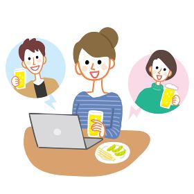 オンライン飲み会 ビデオ通話