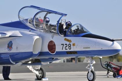 T-4ブルーインパルスパイロット