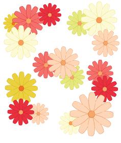 花の飾りセット