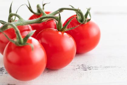 新鮮朝採り、房摘みトマト