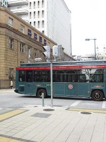神戸市内を循環するループバス