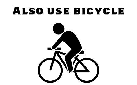 自転車通勤などを勧めるアイコン