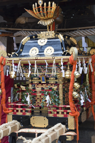 吉備津彦神社の神輿