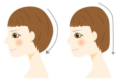 頭の形 絶壁頭