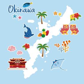 沖縄地図 観光マップ