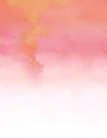 背景素材 グラデーションに滲んだ水彩絵具 ピンク