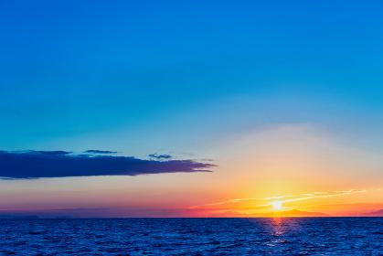玄界灘の日の出