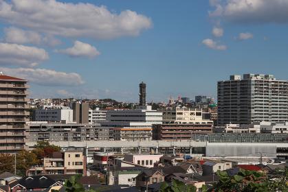 星川の街並み(神奈川県横浜市保土ケ谷区)