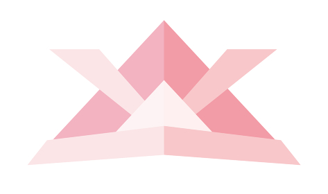折り紙を模したカブト兜のイラスト アイコン|端午の節句子供の日