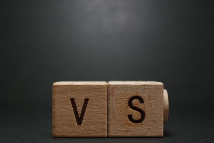 対立、競争、感情、勝負等のイメージ素材