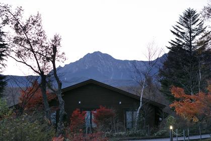 日本の百名山、夜明けの八ヶ岳、10月・山梨