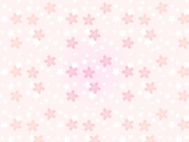 桜のアンニュイ背景