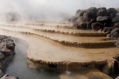小浜温泉の源泉