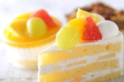 ショートケーキの集合イメージ