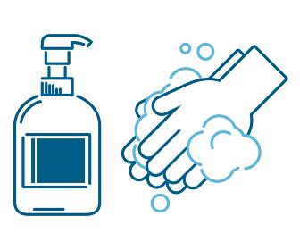 液体石けん 手洗い アイコン