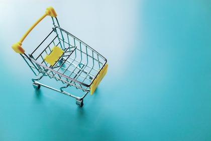ミニチュアのショッピングカート