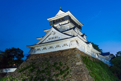 小倉城の夜景