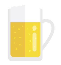ビール・アルコール イラスト (乾杯・宴会・飲み会)