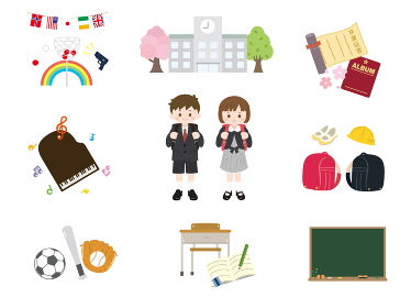 小学生 子どもたちのイラスト