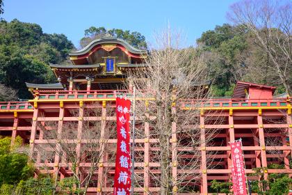 日本三大稲荷の祐徳稲荷神社